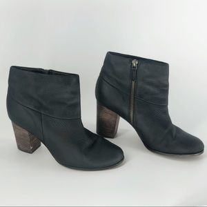 Cole Haan Cassidy Nike Air Black Ankle Booties